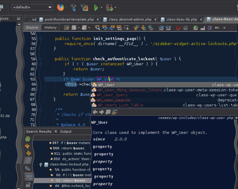 Complete autocomplete in NetBeans – vdoc in action